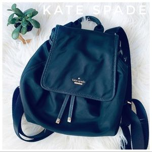 KATE SPADE backpack nylon in black